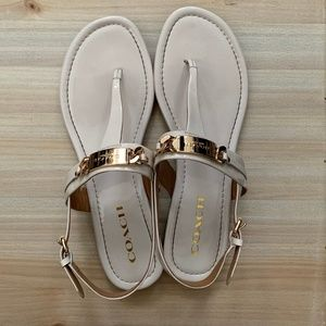 Coach Caterine Thong strap Sandals